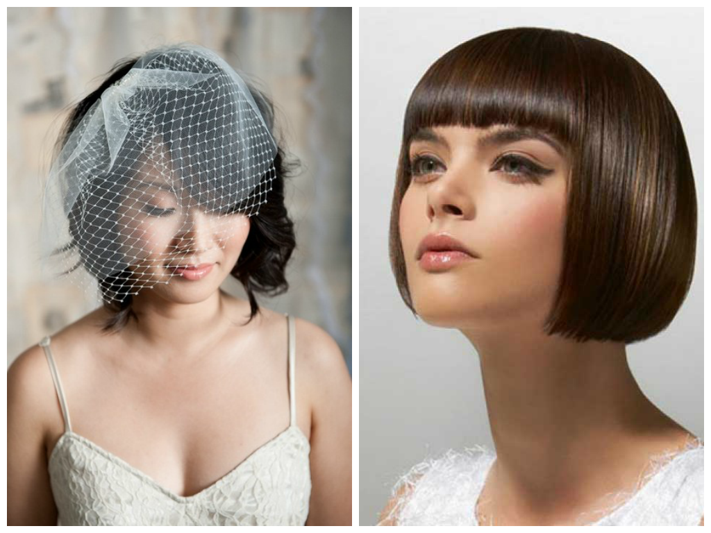 blunt-bangs-bob-wedding-hairstyles - women hairstyles