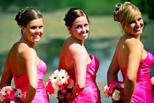 bridesmaid-hair that matches