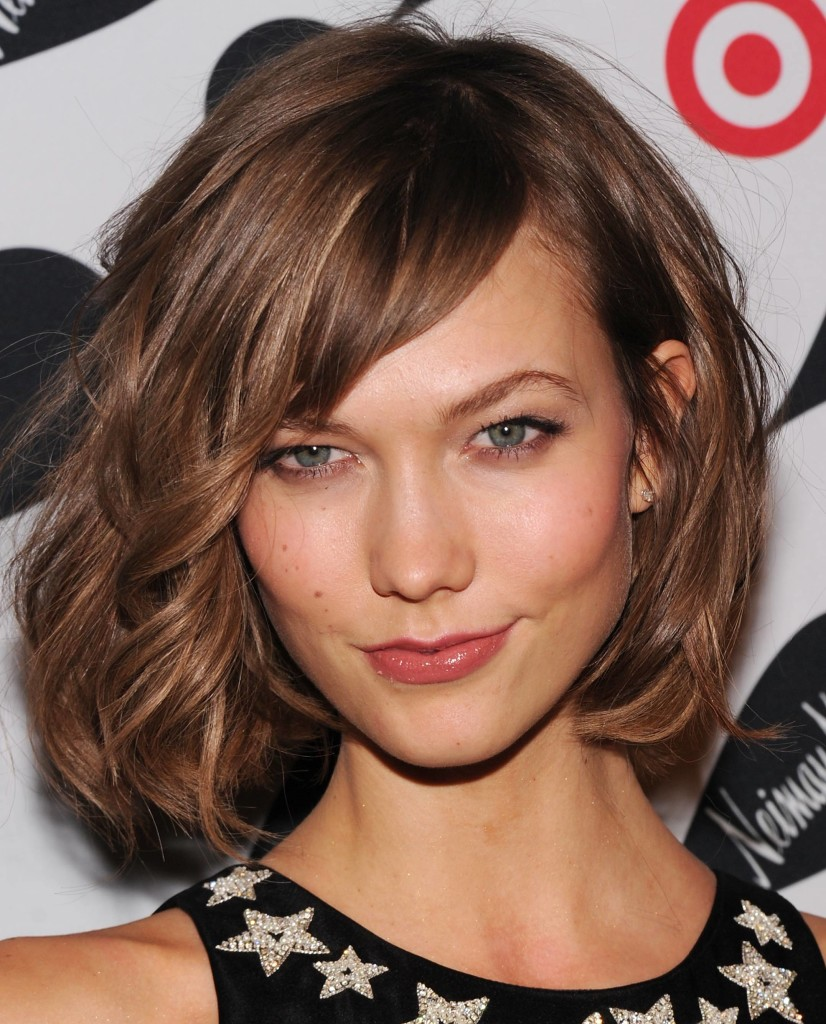 Medium Length Haircuts With Bangs And Layers Women