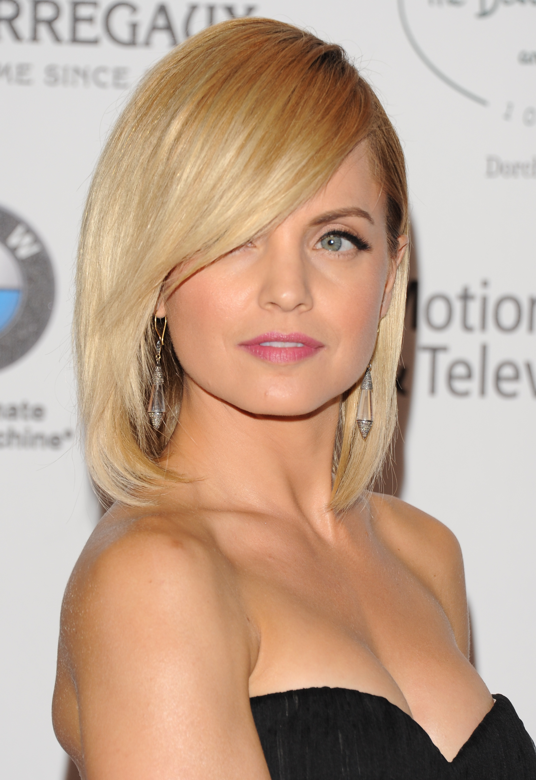 The Best Celebrity Side Swept Fringe Hairstyles Women