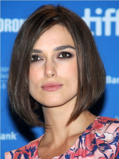 The Hottest Straight Haircuts for Medium Length Hair - Women Hairstyles