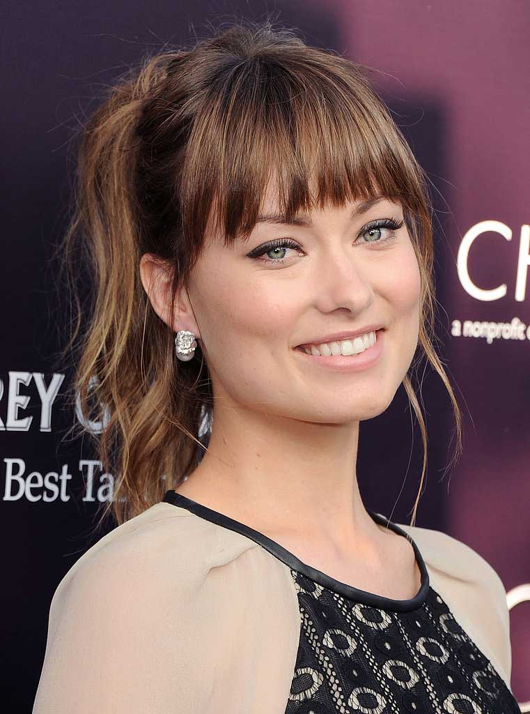 Bangs for Women with Oblong Faces