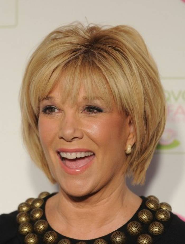 Shag hairstyle for women over 50