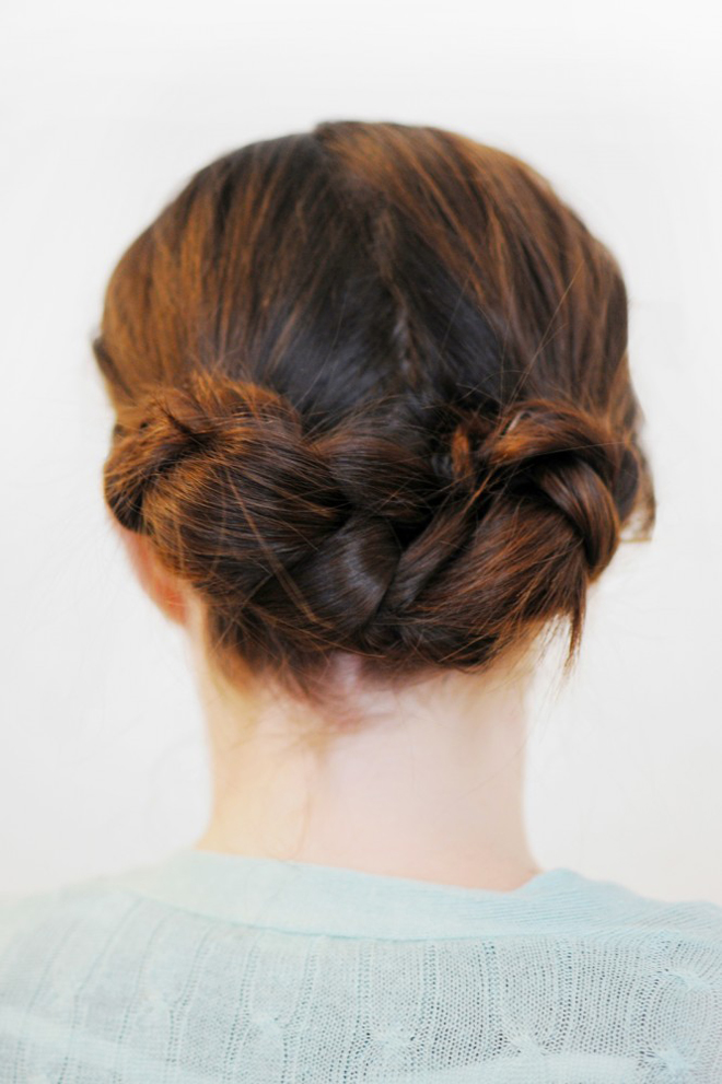 hair up styles for work easy updo s that you can wear to work hairstyles 1009 | simple braided hairstyle for women to wear to work