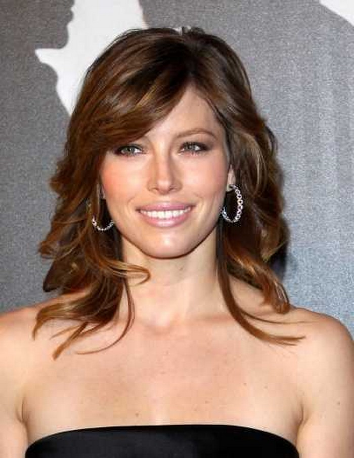 style layered hair medium length haircuts with bangs and layers 1728