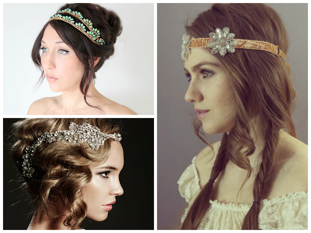 Popular Bridal Headbands Women Hairstyles
