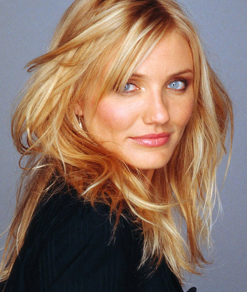 blonde Cameron hair diaz