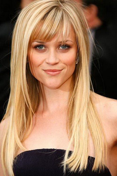 different styles for hair the different reese witherspoon hairstyles with bangs 5544
