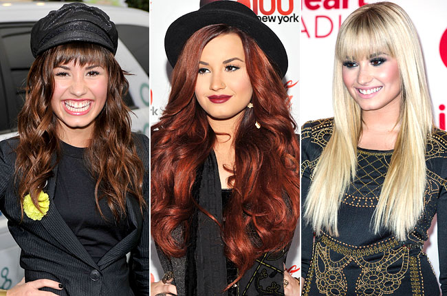 demi-lovato-hair-evolution