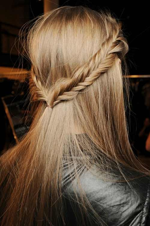 half-up-half-down-fishtail-braid
