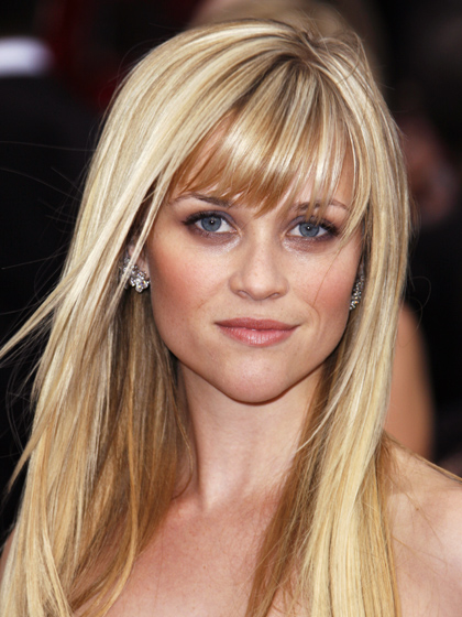 Heart Face Shape Hairstyles Reese Witherspoon Women