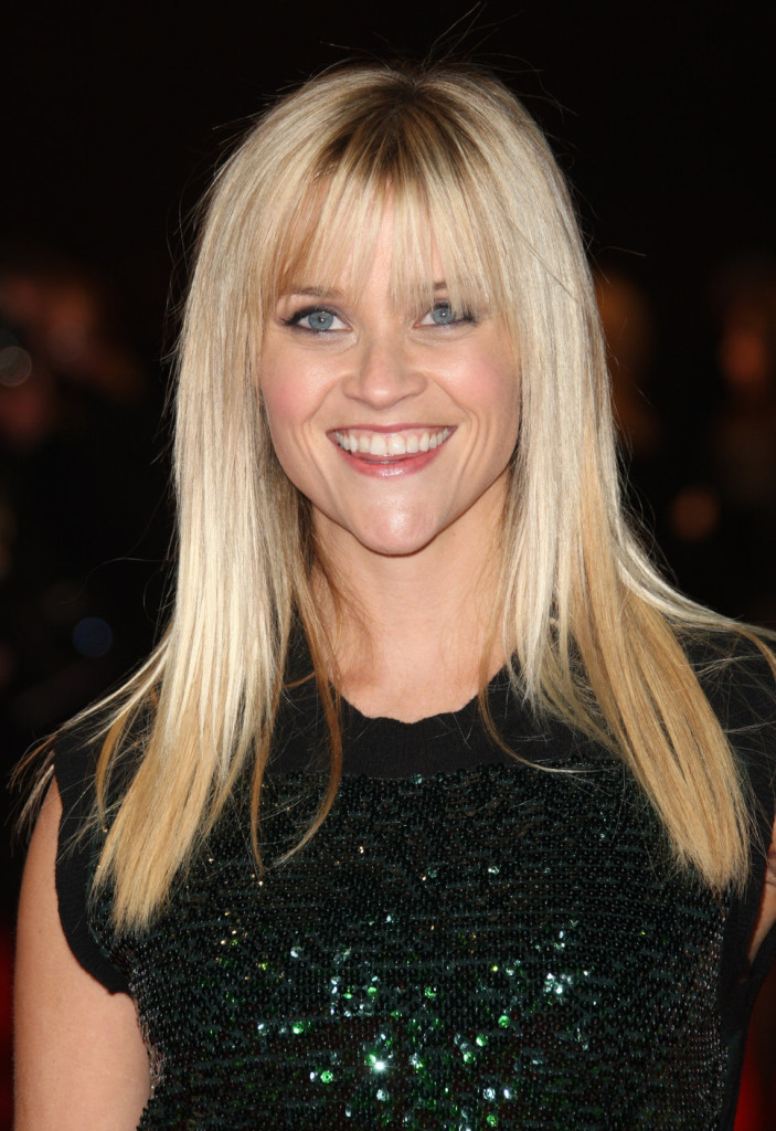 shoulder hair style the different reese witherspoon hairstyles with bangs 6587