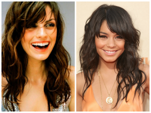 sidesweptbangsforovalfaceshape  women hairstyles