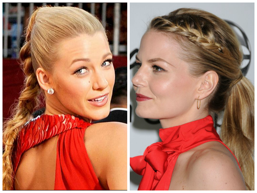 trendy-braided-ponytails