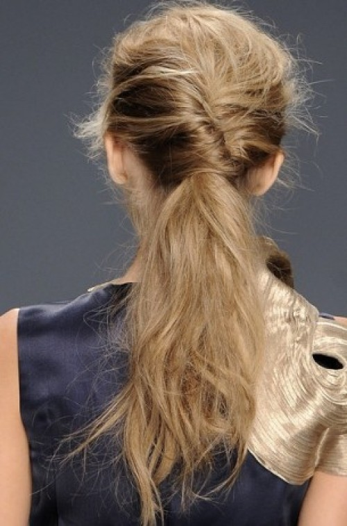 trendy-french-twist-ponytail