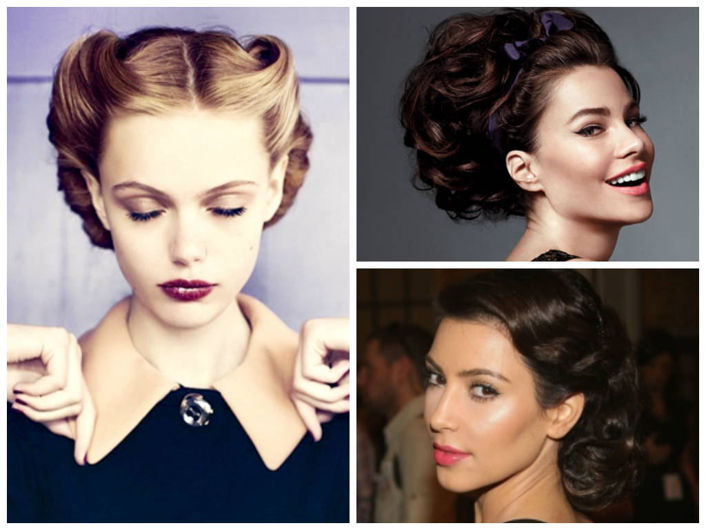 hot curler hair styles vintage hairstyles with heated rollers hairstyles by 3063 | updos with hot rollers