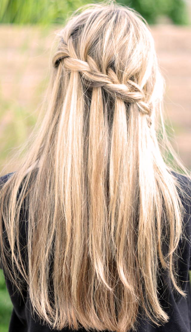 Half Up Half Down Braided Hairstyle Women Hairstyles