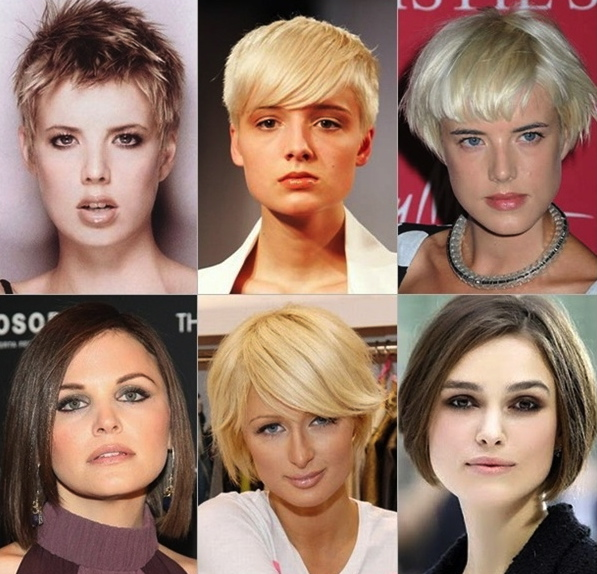 best haircuts for face shape hairstyles for types hair 2248 | Best Short Haircuts for Your Face Shape