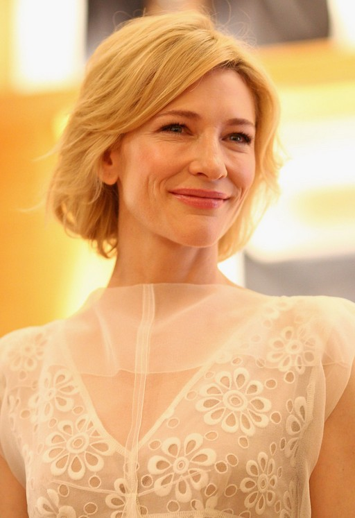 coarse hair style cate blanchett layered bob hairstyle for thick hair 3725