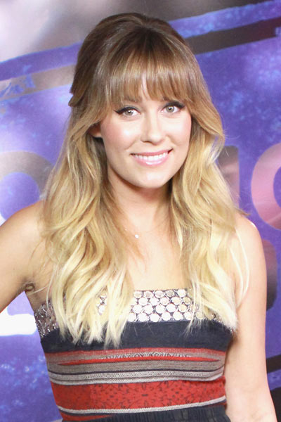 Lauren Conrad Best Celebrity Blunt Bangs