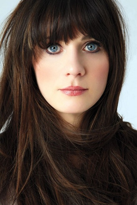 Zooey-Deschanel-Long-Straight-Hairstyle-with-Blunt-Bangs