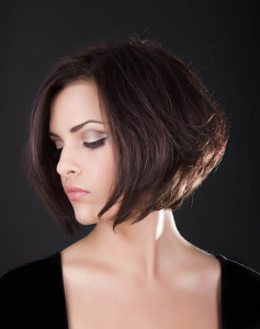 Chin Length Graduated Bob Hairstyle Women Hairstyles