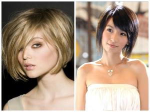 shortlayeredbobforovalface  women hairstyles