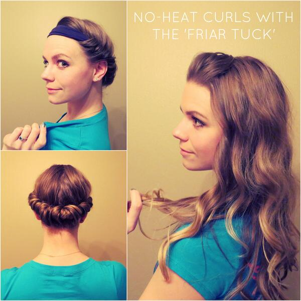 No-heat-Headband-Curls