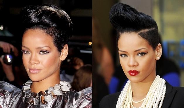Rihanna-2009-Hairstyles