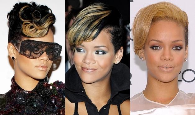 Rihanna-Hairstyles