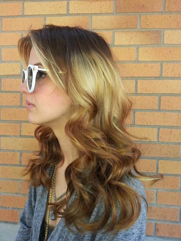 Hot New Hair Color Trend Splashlight Women Hairstyles