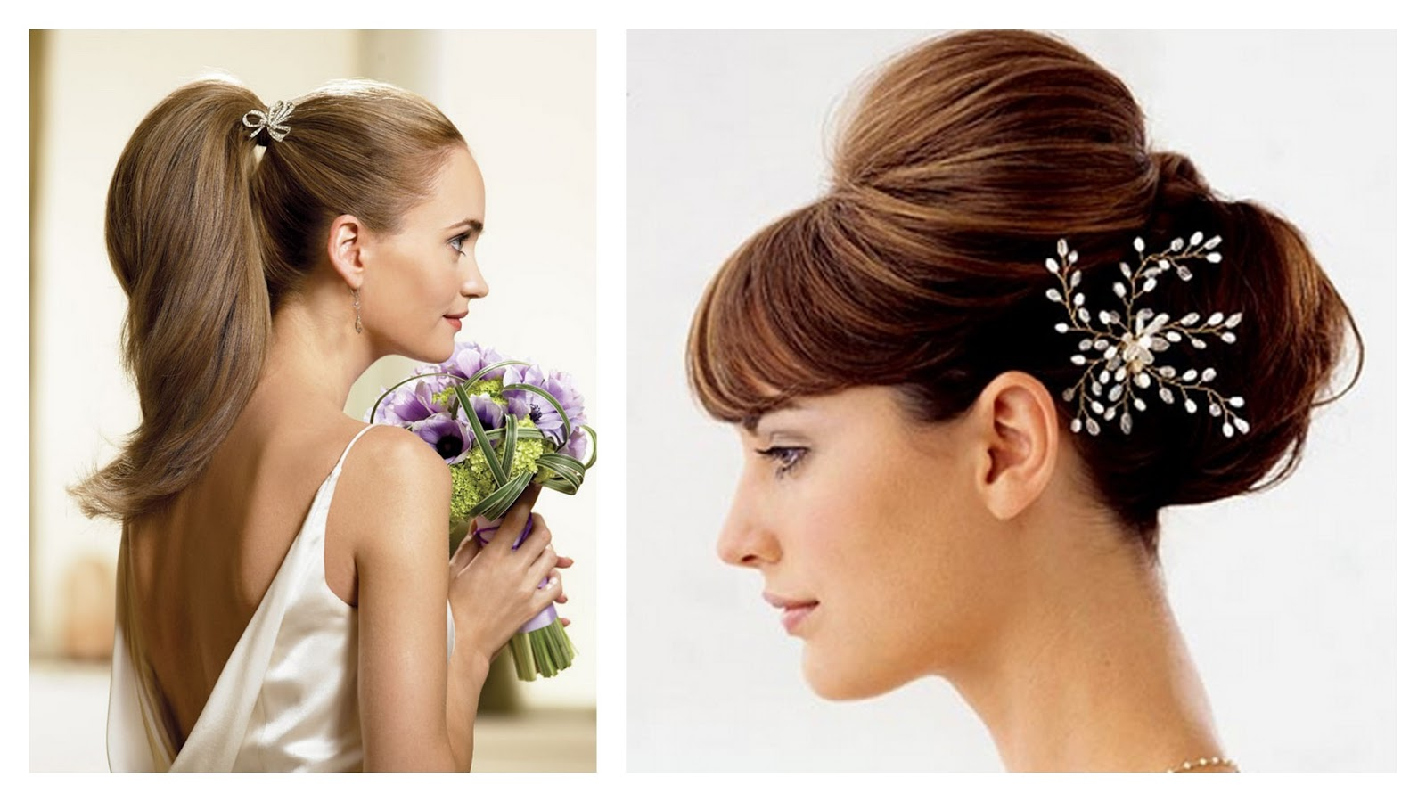 clip in hair extensions for your wedding day - women hairstyles