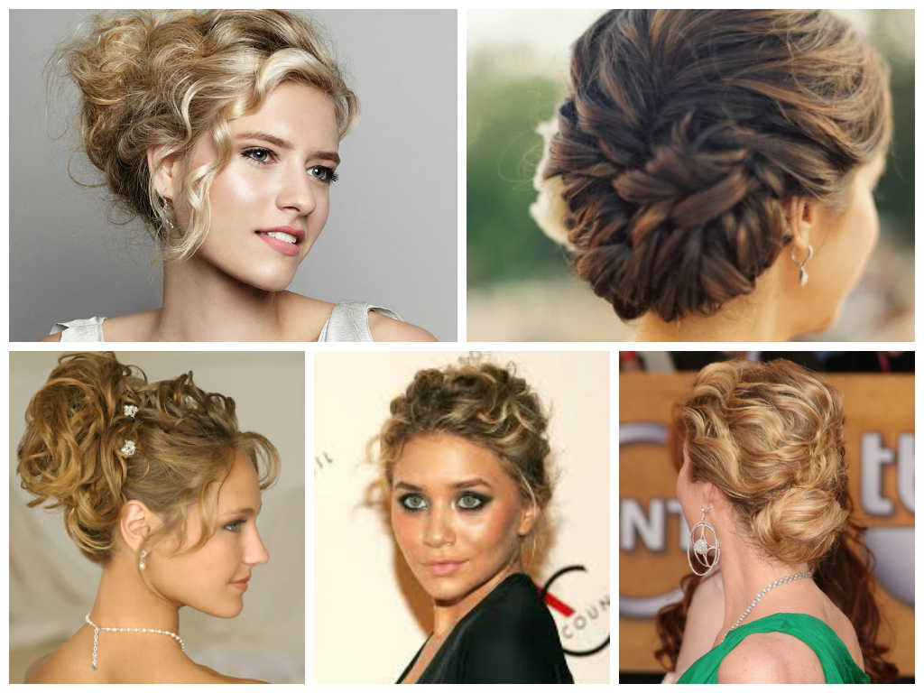 Natural Hair Bun With Braids