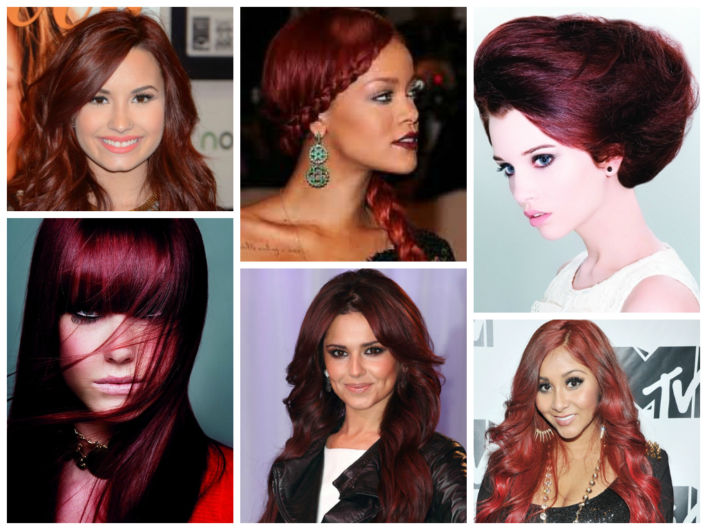 Burgundy-Red-Hair-Color