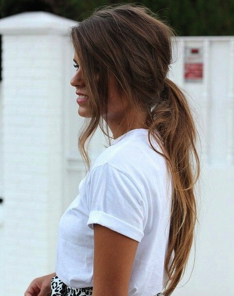 Messy Chic Hairstyles From Pinterest Women Hairstyles