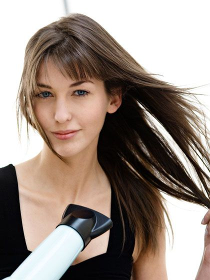 how to style hair with cowlicks haircuts for cowlicks haircuts models ideas 3010 | How to blow dry bangs with a cowlick