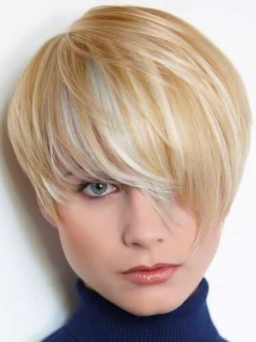 Short Blonde Bob Hairstyle Women Hairstyles