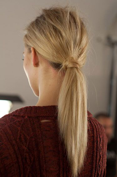 Simple-Summer-Hairstyles-Ponytail
