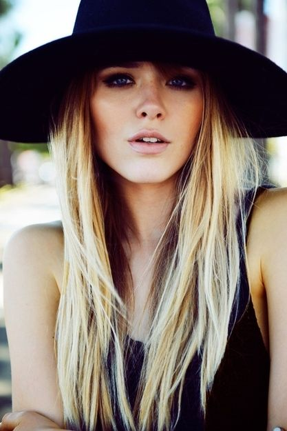Trendy Hairstyles To Wear With A Summer Hat Women Hairstyles