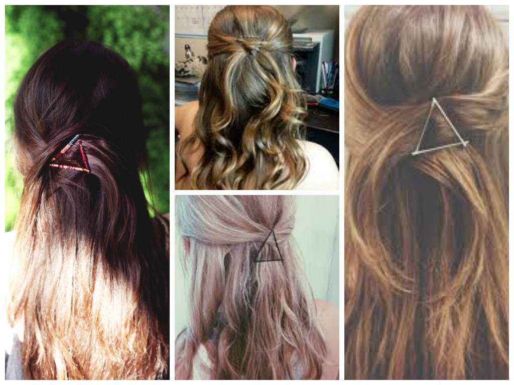 Triangle Bobby Pins