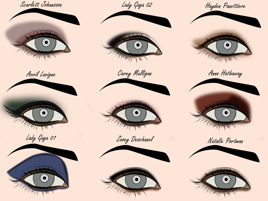 Eye Shadow Tutorial For Daytime And Nightime Women