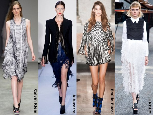 Spring fringes summer fashion