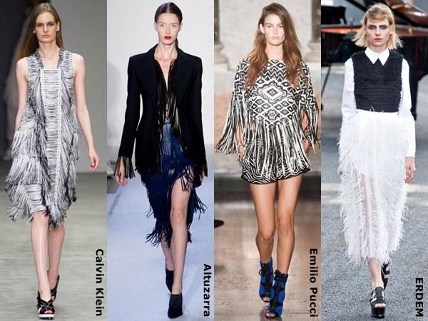 Fringes Fashion for Spring Summer 2015