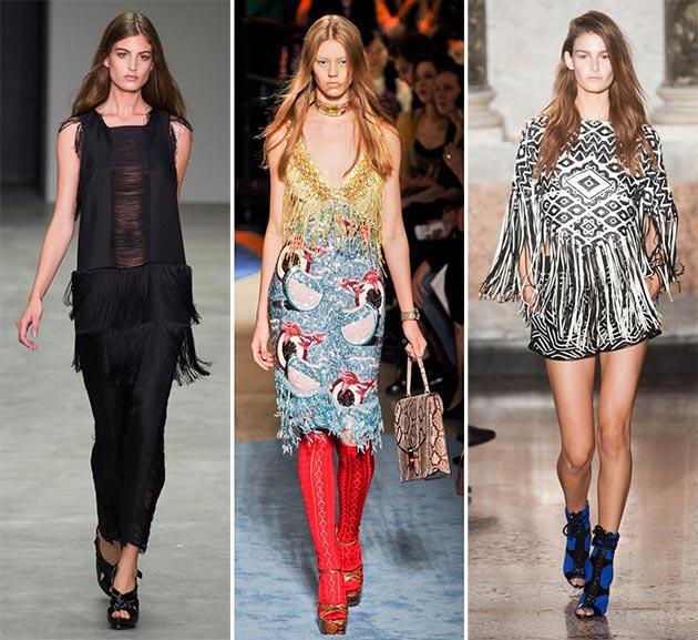 Spring fringes summer fashion