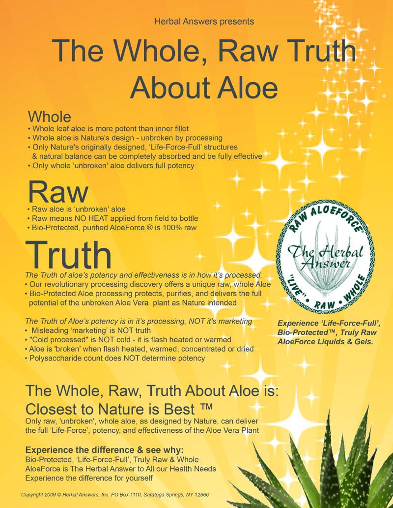 vera aloe properties